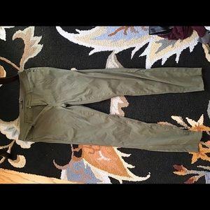 Prana Briann pant size 14 cargo green